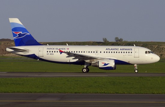 самолет Atlantic Airways